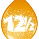 ballon 12,5 jarig jubileum